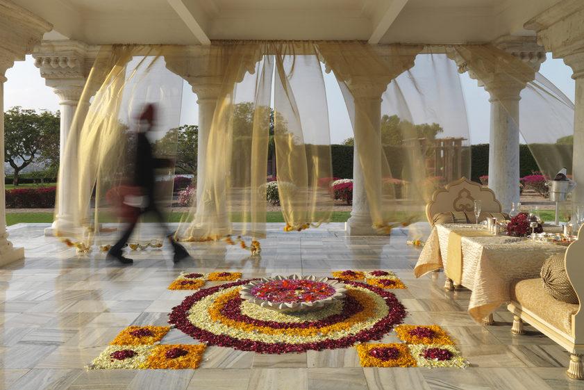 Umaid Bhawan Palace hotel, Jodhpur. Image credit: Taj Umaid Bhawan Palace
