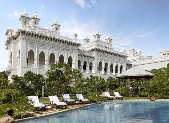 Falaknuma Palace hotel, Hyderabad. Image credit: Taj Falaknuma Palace