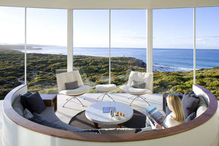 Southern Ocean Lodge, Kangaroo Island – the perfect bleisure extension from Adelaide. Image credit: George Apostilides