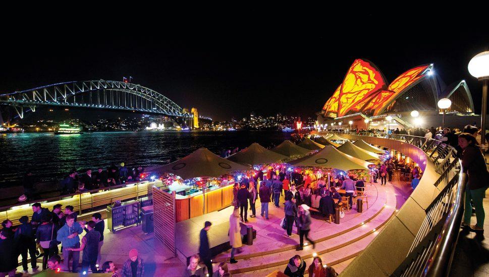 Vivid lights up Sydney's winter nights: Credit: Destination NSW