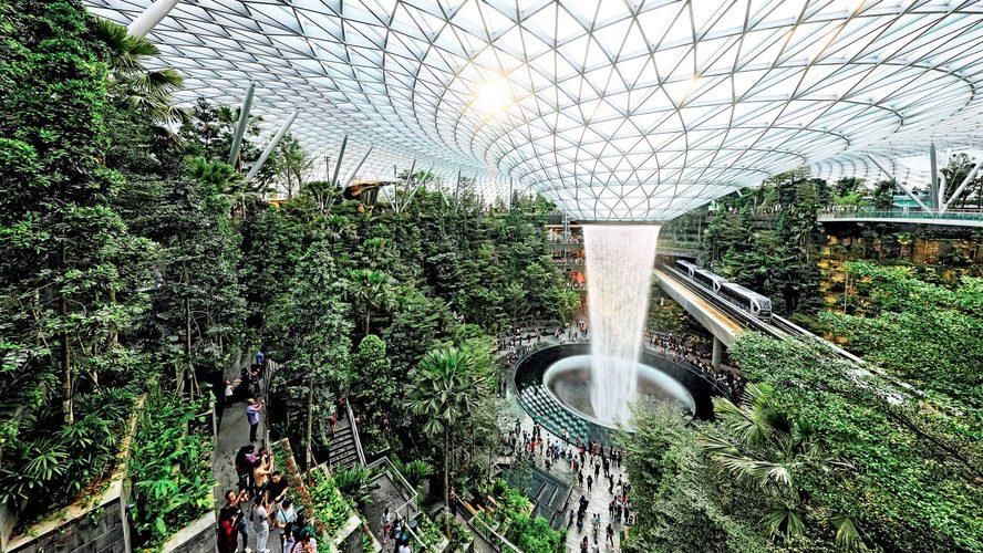 The Jewel, Singapore Changi Airport. Credit: Singapore Changi Airport.