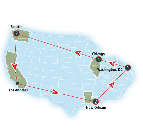 Amtrak Vacations - Grand Rail Experience