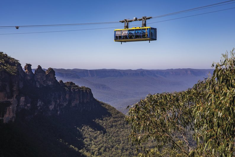 Scenic World, Katoomba. Credit Destination NSW
