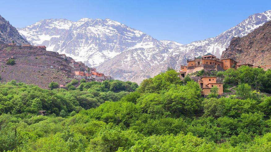 Morocco's dramatic Atlas Mountains. Credit: Denise Houlihan.