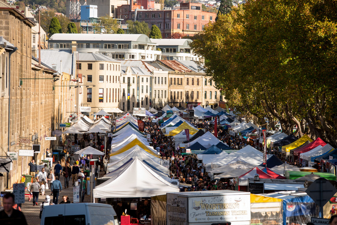 Salamanca Market_City of Hobart and Alastair Bett