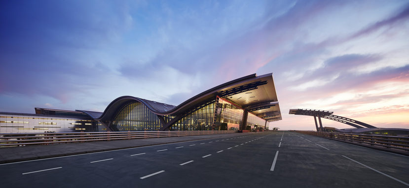 Image: Hamad International Airport, Doha. Credit: Hamad International Airport