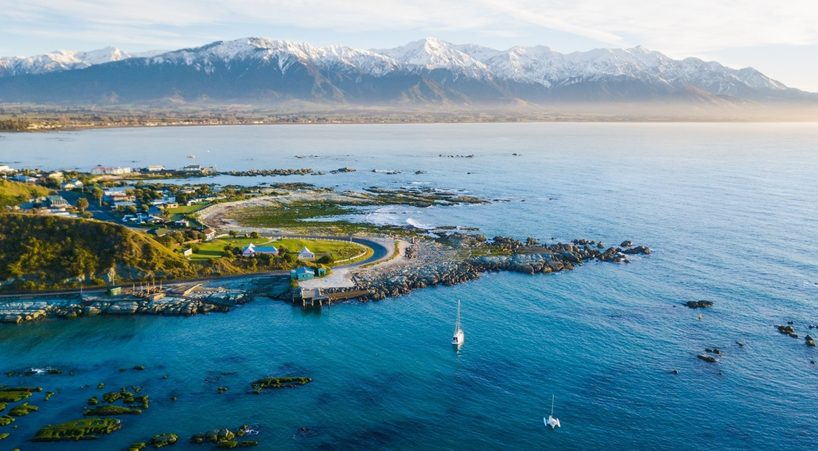 age: Kaikoura Peninsula and mountains. Image: Bare Kiwi