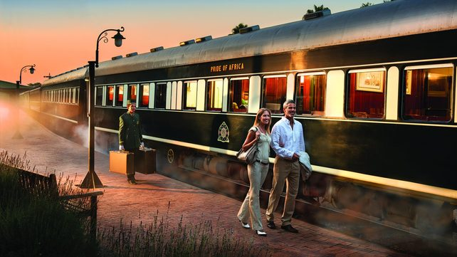 (Image: Rovos Rail luxury, southern Africa. Credit: Rail Plus)