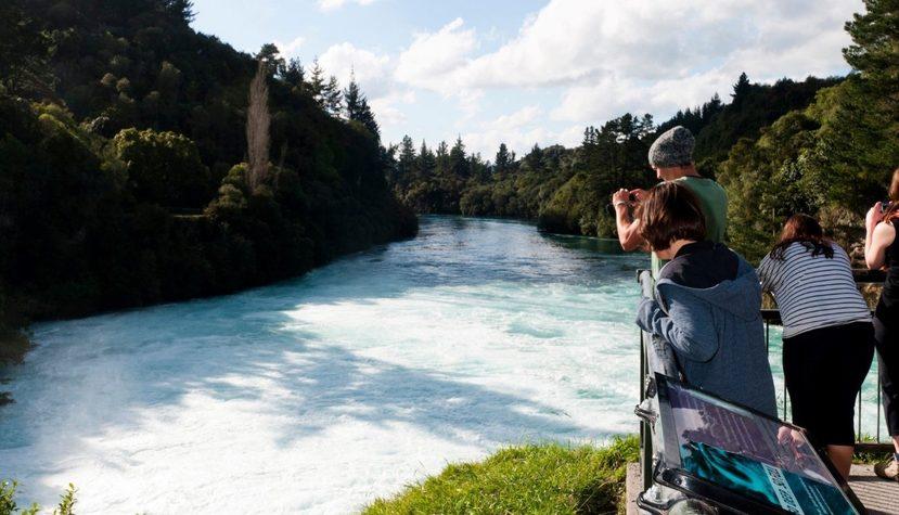 Image: Huka Falls, Lake Taupo. Credit: Paul-Abbitt