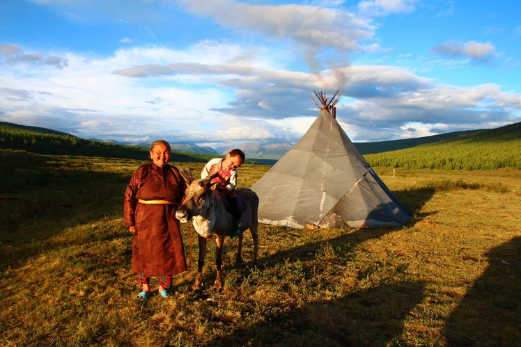 Image: Connecting with remote communities in Mongolia. Credit: Crooked Compass.