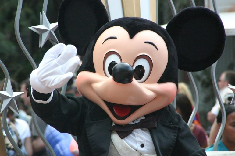 Mickey Mouse, Disney Land