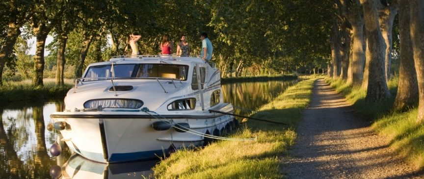 Barry's next Le Boat adventure? Canal du Midi, France. Credit: Le Boat.