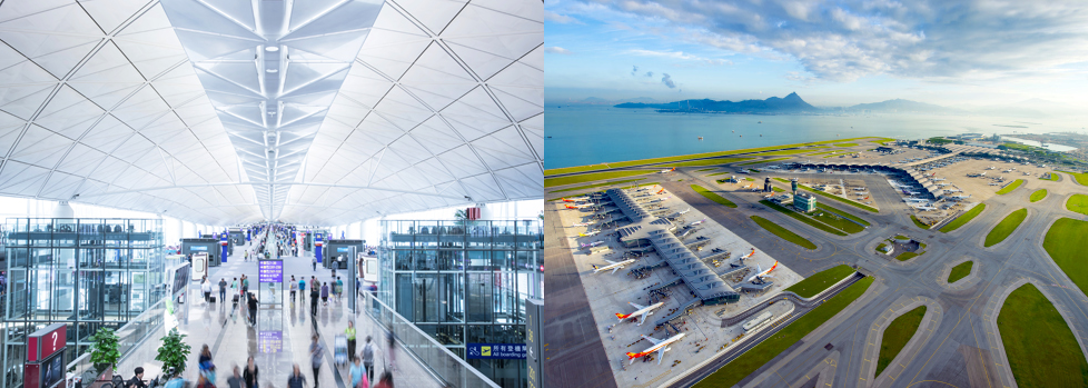 Image: Hong Kong International Airport, Lantau Island. Credit: Hong Kong International Airport
