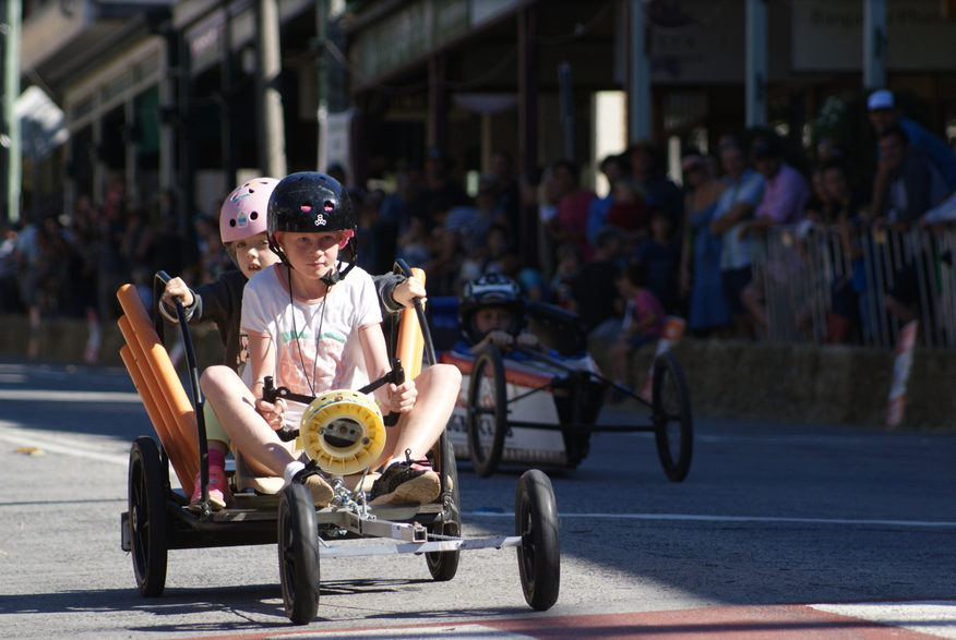 Bangalow Billycart Derby. Image credit: Ben Alcock)