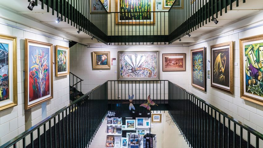 Image: Pro Hart Gallery, Broken Hill. Credit: Destination NSW.