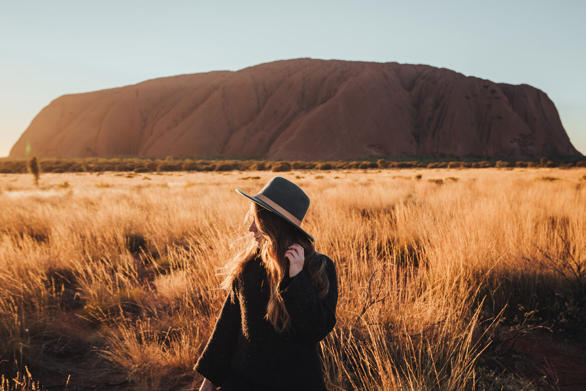 Explore Uluru at sunset_Image by Tourism NT & Emilie Ristevski