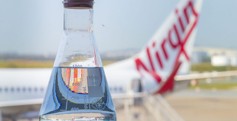 Virgin Australia efforts towards new biofuels