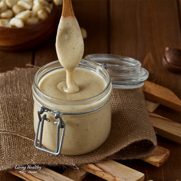 White Chocolate Macadamia Nut Butter recipe