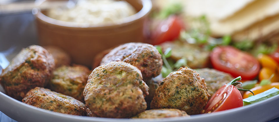 Macadamia and Herb Falafels
