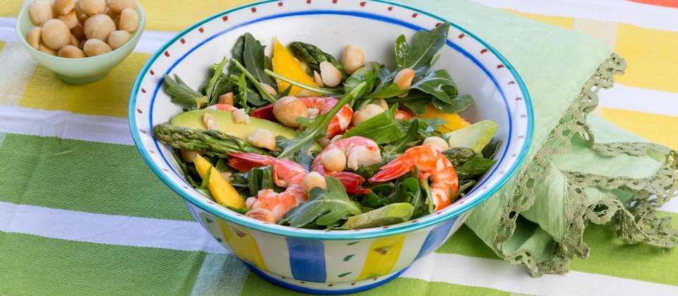Lyndey's prawn salad for Christmas