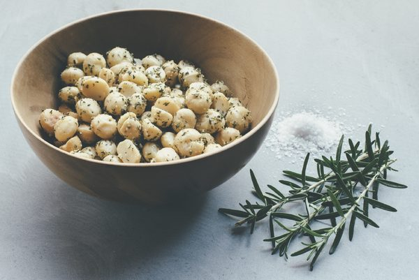 Rosemary and sea salt macadamias