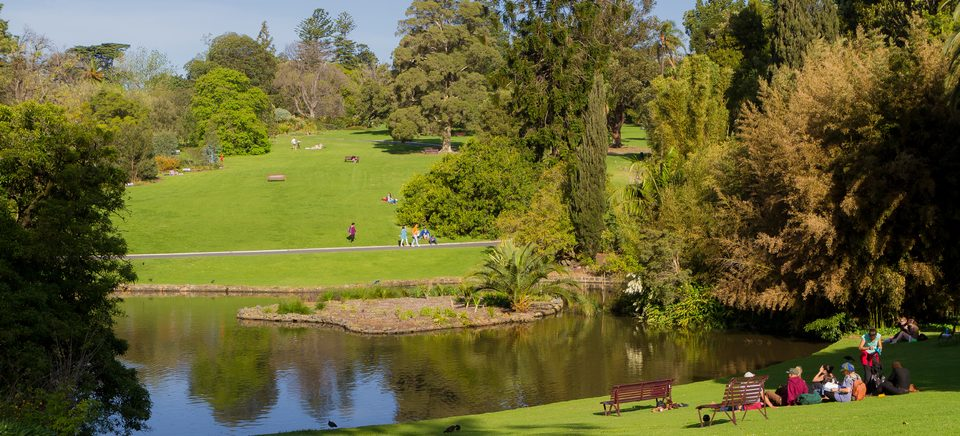 Royal Botanic Gardens, Melbourne, VIC: Image credit Tourism Australia / Time Out Australia