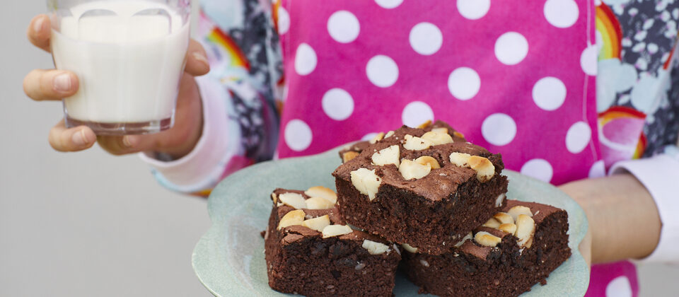 Easiest brownies for kids to whip up