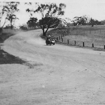 The early days of racing at Mount Panorama