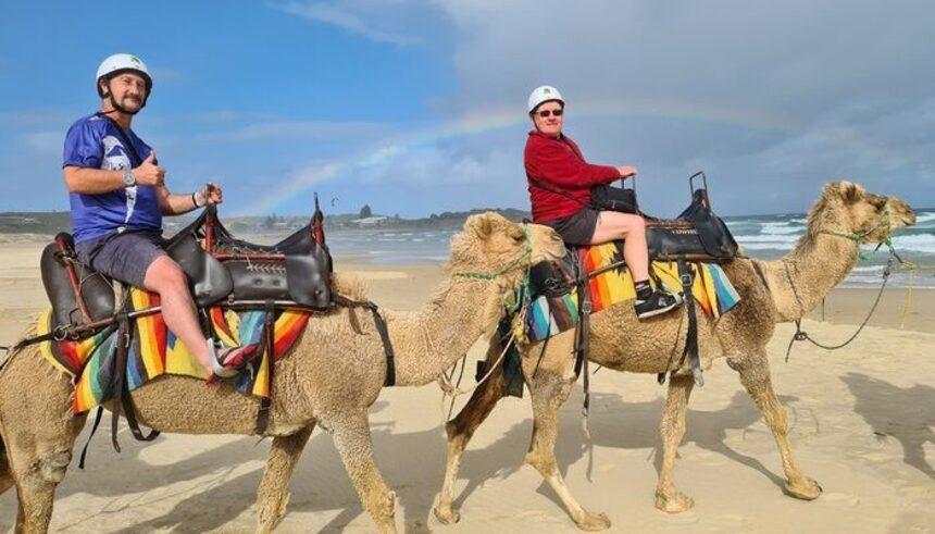 Port Stephens Trusted travel camel ride