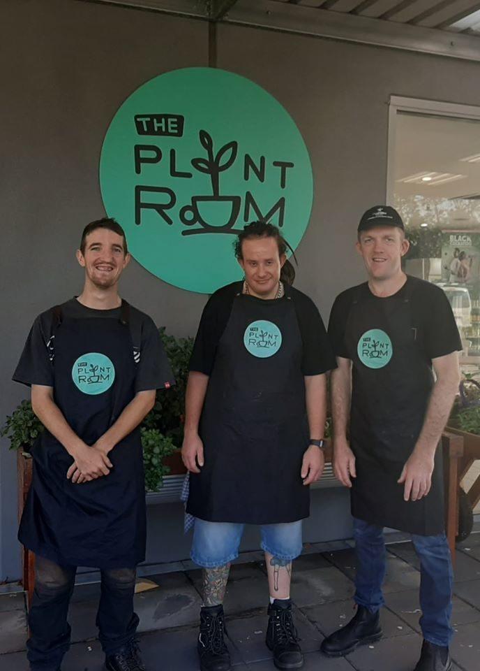Plant Room Cafe Staff