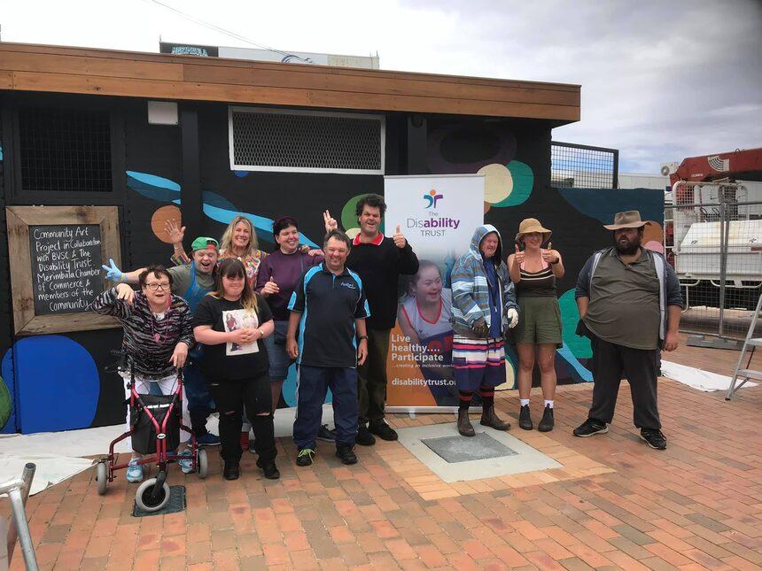 community art team in Merimbula