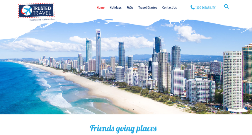 Trusted Travel Website