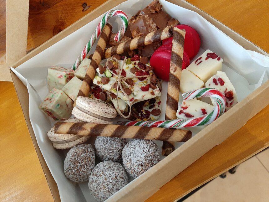 Xmas sweet box