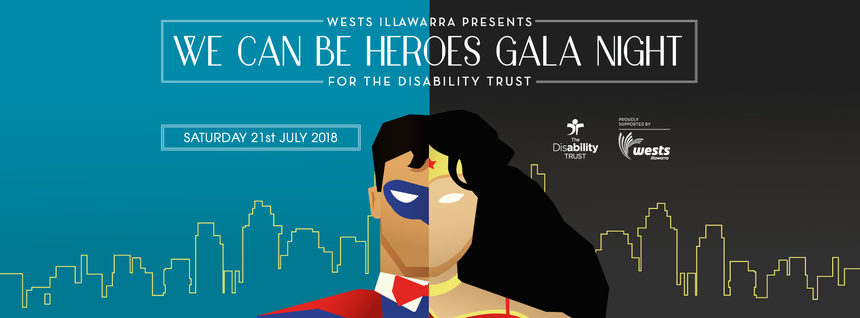 We can be Heroes Gala NIght