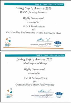 2010 Living Safety Awards (BlueScope Steel)