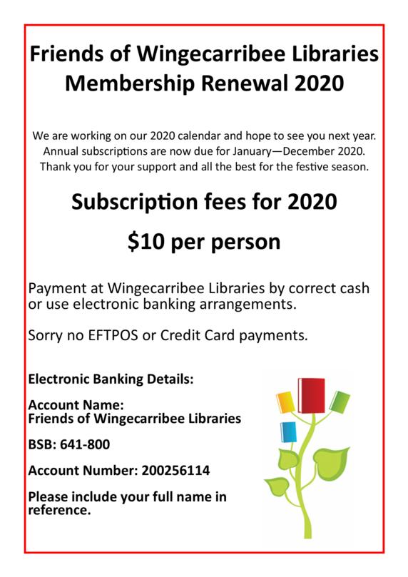FOWL 2020 membership renewal