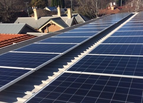 Bowral Library Solar Panels