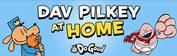 Dav Pilkey at home