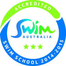 Swim Australia Accedited Swim School 2014-2015 Emblem