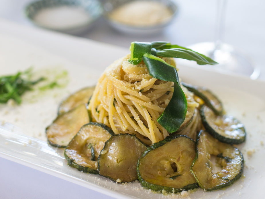 Spaghetti Alla Nerano - try this Yamba recipe at home.