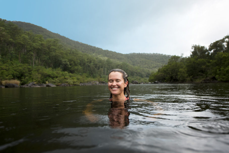 swimming in the Clarence River
