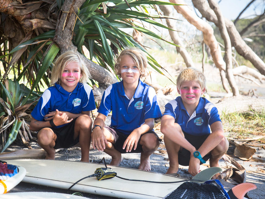 Wooli Public School Surf Kids