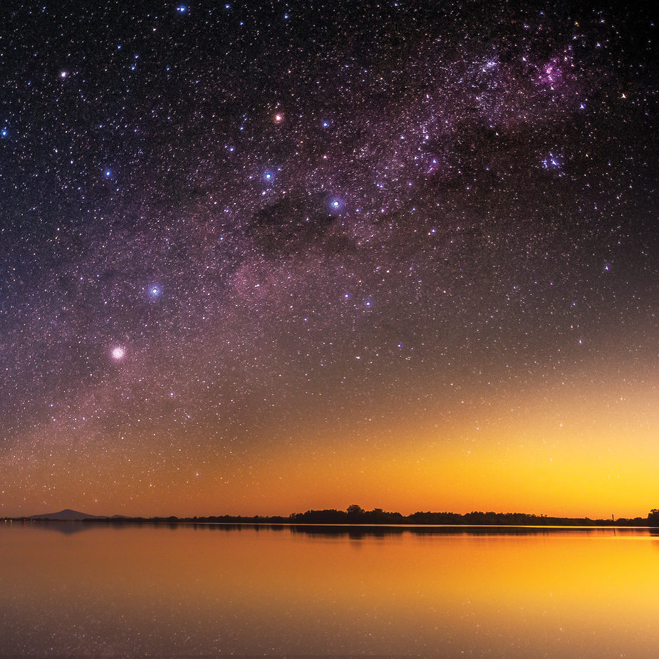 Stars over the Clarence River