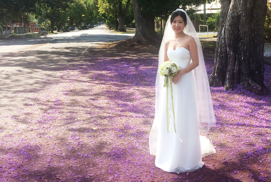 Perfect place to celebrate your wedding - Grafton Jacarandas