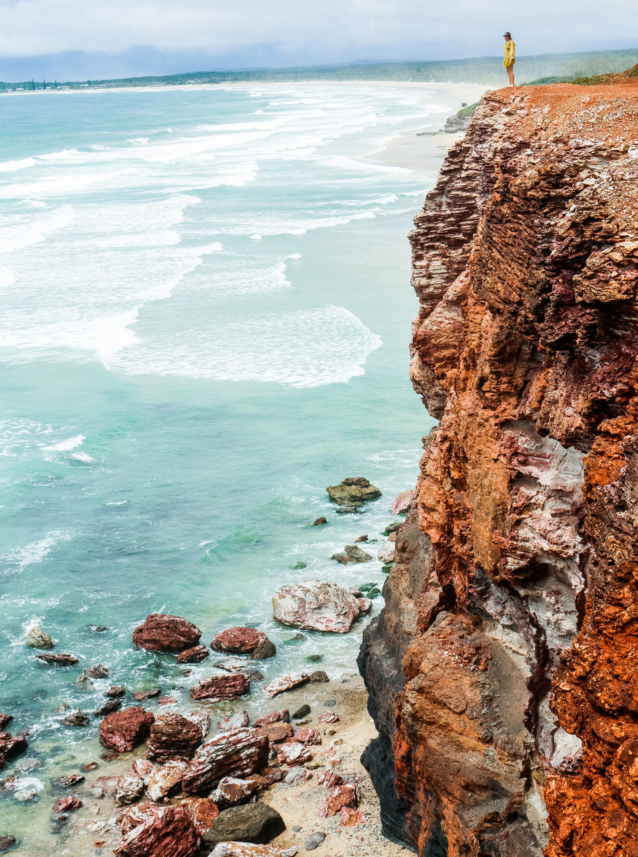 Red Cliffs, Yuraygir National Park