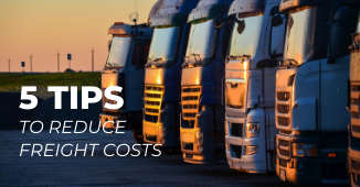 5 Tips to Reduce Freight Costs