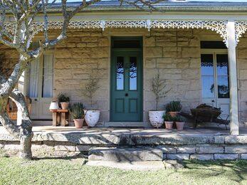 Sompson Cottage front door