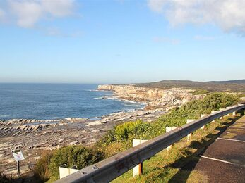 The carpark with Cape Solander and ocean view in the background Photo Natasha Webb amp copy DPIE