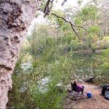 Lake Eckersley campground