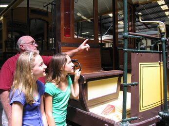 Exploring the Tramway Museum